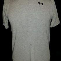 Under Armour Heat Gear Mens Shirt Medium Gray Photo