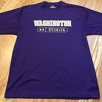Under Armour Heat Gear University of Washington Huskies Athletic Shirt - Small Photo