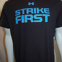 Under Armour Heatgear Mens Shirt Short Sleeve Shirt U-Neck Size L Multicolor Photo
