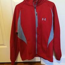 Under Armour Heavy Red Outdoor Jacket  Photo