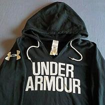 Under Armour Hoodie...men's Black Hoodie Size...xl   (Lot 332) Photo
