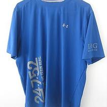 Under Armour Img Academies Tennis Soccer Running Training Shirt L Blue Photo