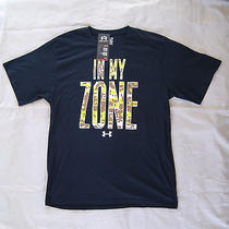 Under Armour in My Zone Tee Sz 2xl Men's Black Shirt Photo