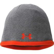 Under Armour Infrared Elements Storm Beanie Snowboarding Ski Hat Grey Men's Nwt Photo
