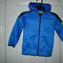 Under Armour  Jacket With Hood Boy's Size 4 Nwt Blue Photo