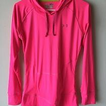 Under Armour Ladies Size Small Hooded Heat Gear Athletic Top  Photo