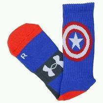 Under Armour Marvels Superhero Captain America Crew Socks  Photo