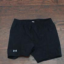 Under Armour Medium Black Spandex Short Shorts Photo