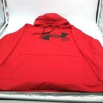 Under Armour Men's Armour Fleece Big Logo Hoodie - Red - Size 2xl Photo