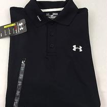 Under Armour Men's Athletic Golf Polo Loose Black Size S Photo