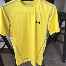 Under Armour Men's Size Small Fitted Heat Gear Shirt  Photo