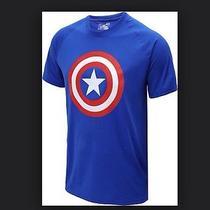 Under Armour Mens Alter Ego Captain America Loose Fit Shirt Marvel  Men Size Xl Photo