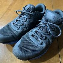 Under Armour Mens Charged Intake Grey and Blue Running Shoes Size 11.5 Great Photo