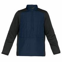 Under Armour Mens Elements Insulated Windbreaker Half Zip Jacket 1317361 408 Photo