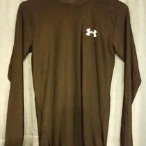 Under Armour Mens Heat Gear Compression Shirt Medium Black Photo