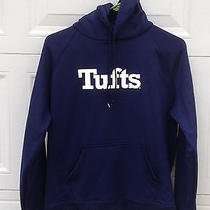 Under Armour Navy Blue Tufts Hoodie Womens Medium Photo