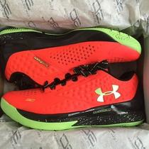 Under Armour New Curry One Low Bolt Orange Shoes Size 8.5 Mens  Photo