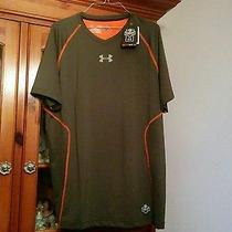 Under Armour Nfl Combine Authentic Fitted Heat Gear  Shirt Xl Photo