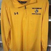 Under Armour Ohio Dominican Women's 1/4 Zip Pullover Size L Photo