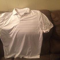 Under Armour Polo Heat Gear Shirt Mens Xl White Photo