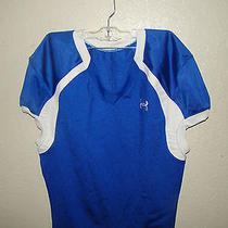 Under Armour Royal Blue Game Football Jersey  Mens Small Photo