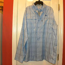 Under Armour Shirt-Size L-Loose-Heat Gear -Excellent Condition Photo
