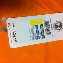 Under Armour Size Med Ladies Heat Gear Shirt Orange Nwt 34.99 Photo