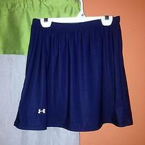 Under Armour Skirt Womens Navy Blue Athletic Apparel Photo