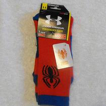 Under Armour Spider-Man Socks Alter Ego Performance Crew 4-8 1/2 Medium Photo