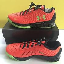 Under Armour Stephen Curry One Low Charged Basketball Shoes Bolt Orange 10 Usa Photo