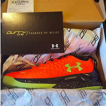 Under Armour Stephen Curry One Low Charged Basketball Shoes Bolt Orange 9 Photo