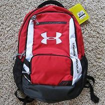Under Armour Storm Backpack Unisex Red Water-Resistant  Photo