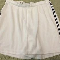 Under Armour  White Heat Gear Shorts Athletic Small Loose Fit Photo
