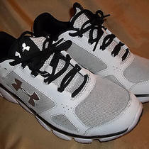 Under Armour White Size 8.5 Micro G Assert v Running Shoes Photo