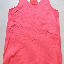 Under Armour Women's Heatgear Fitted Fitness Shirt Size Large Striped Photo