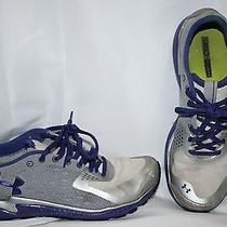 Under Armour Women's Sneakers Size 7.5 Gray & Purple Tennis Shoes Photo
