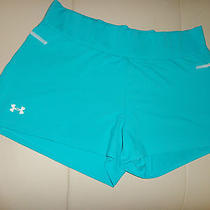 Under Armour Workout/running/athletic/yoga Shorts Sz Lg M W 6-10 Mint 65 Lk Photo