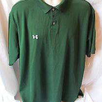 Under Armour Xlarge Green Polo Item 52 Photo