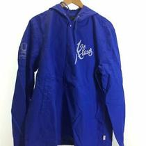 Under Cover Jacket Nylon Blu Plain Blue 2015aw Hoodie Coach Chest Print Photo