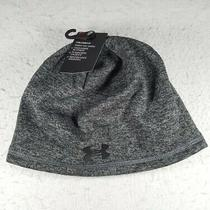 Under Men Coldgear Infrared Elements 2.0 Beanie Hat 1262141 041 Black Tech Print Photo