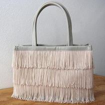Undercover by Jun Takahashi  Blush Fringe Small Tote Bag... Perfect Spring Bag Photo