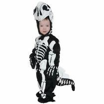 Underwraps Halloween Costume Toddler's Stegosaurus Fossil Jumpsuit Black/white Photo