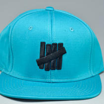 Undftd 5 Strike Snapback Hat (Aqua) Photo