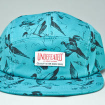 Undftd Ducks 5 Panel Hat (Aqua) Photo