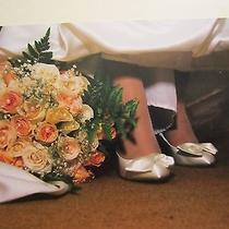 Unforgettable Moments Wedding Shoes Size 5 Ivory Silk  Photo
