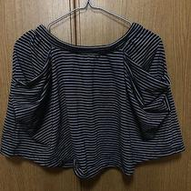 Uniqlo Stripe Skirt Kids Large Womens Xs /gap Zara h&m American Apparel Topshop Photo