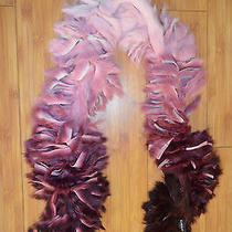Unique Bebe Ombre Rabbit Fur Scarf  Boa Photo