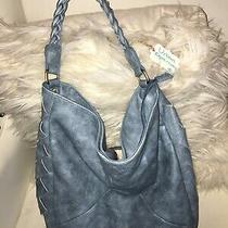 Unique Blue Hobo Purse Photo