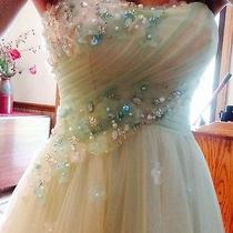 Unique Blush Prom Homecoming Dress Size 0 Photo