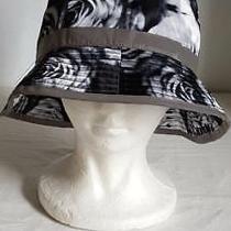 Unique Carbon Elements Woman Black White Rose Flower Fishing Hat Cap Reflective Photo